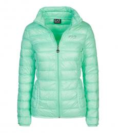 Emporio Armani Mint Puffer Down Jacket