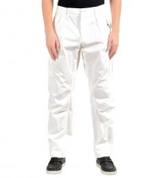 Dolce & Gabbana White Cargo Casual Pants