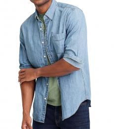 Blue Denim Regular Shirt