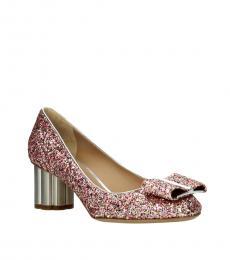 Multicolor Glitter Heels