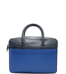 Atlantic/Navy Harrison Large Briefcase  Bag