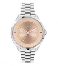 Furla Silver Stylish Metropolis Watch