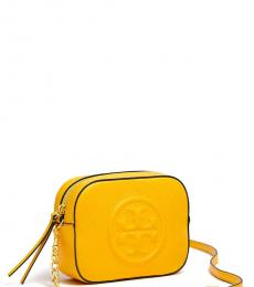 Tory Burch Yellow Limited Edition Mini Crossbody