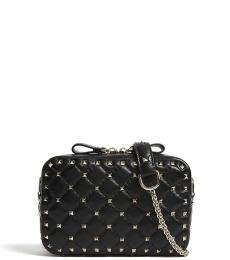Valentino Garavani Black Rockstud Mini Crossbody