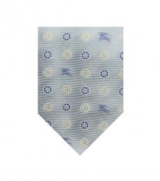 Burberry Blue Modish Dot Tie
