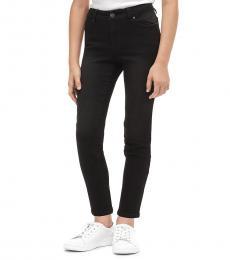 Calvin Klein Girls Anthracite Skinny Jeans