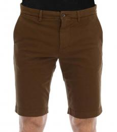 Dolce & Gabbana Brown Cotton Shorts