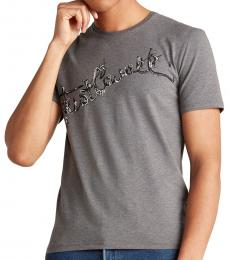 Grey Vine Cursive Logo T-Shirt