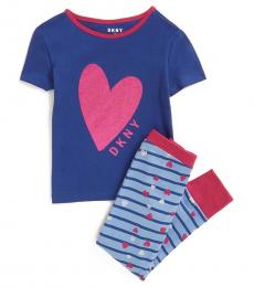 DKNY 2 PieceT-Shirt/Leggings Set (Little Girls)