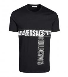 Versace Collection Black Logo Graphic T-Shit