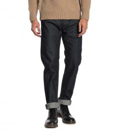 Diesel Navy Blue Waykee Straight Leg Jeans