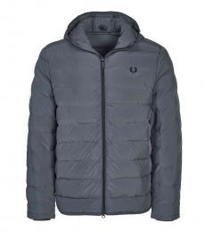 Fred Perry Dark Blue Logo Patch Jacket