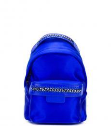 Blue Zip Mini Backpack