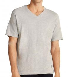Vince Camuto Grey V-Neck Lounge T-Shirt