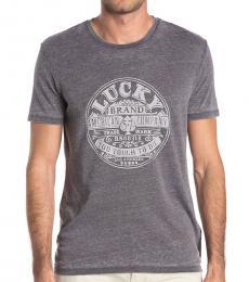 Lucky Brand Grey American Company T-Shirt