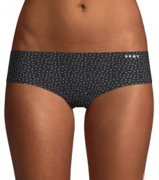 DKNY Black Cut Away Hipster Panty