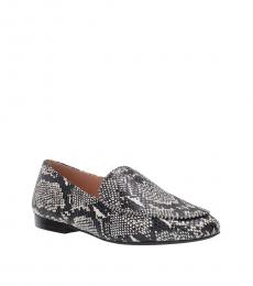 Coach Snake Print Harper Loafers