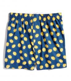 J.Crew Dark Blue Lemon Boxers