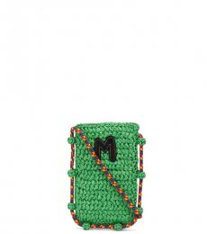 Missoni Green Mobile Mini Crossbody