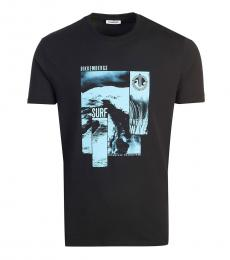 Black Front Logo T-Shirt