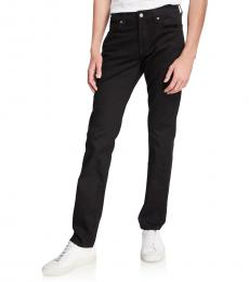 7 For All Mankind Black Slimmy Slim-Fit Jeans