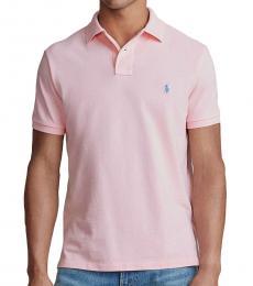 Ralph Lauren Garden Pink Custom Slim Fit Polo