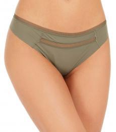 Calvin Klein Wild Fern Mesh-Trim Thong Underwear