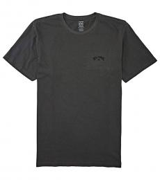 Dark Grey Arch Wave T-Shirt