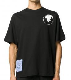 McQ Alexander McQueen Black World Beyond T-Shirt
