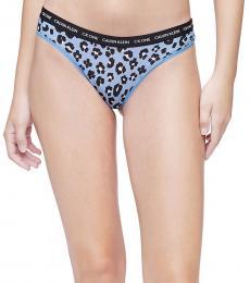 Calvin Klein Stephen Leopard Brazilian Bikini Underwear