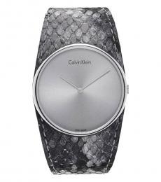 Grey Spellbound Logo Watch