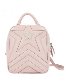 Stella McCartney Pink Star Small Backpack