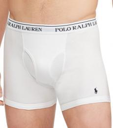 Ralph Lauren White 2-Pack Boxer Briefs