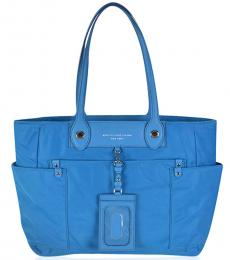 Marc by Marc Jacobs Blue Preppy Large Tote