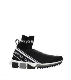 Black Logo Detail Sneakers