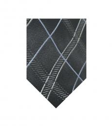 Valentino Garavani Black Plaid Voguish Tie