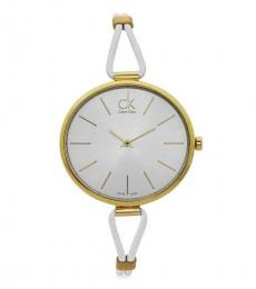 Calvin Klein White Selectional  Watch