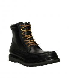 Ralph Lauren Black Willingcott Boots