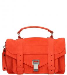 Orange PS1 Small Satchel