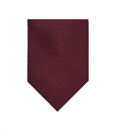 Purple-Multicolor Micron Pindot Tie
