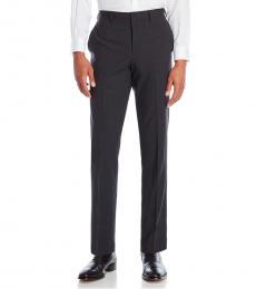 Charcoal Wool Dress Pants