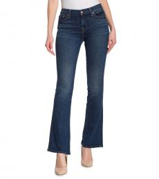 7 For All Mankind Dark Blue Kimmie Bootcut Jeans