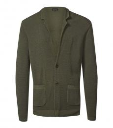 Olive Body Fitted Blazer