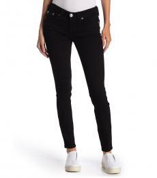 True Religion Black Mid Rise Skinny Jeans