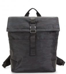 Cole Haan Navy Sawyer Camo Large Backpack