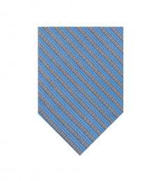 Calvin Klein Blue Striped Tie