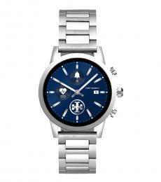 Tory Burch Silver Gigi Smart Watch