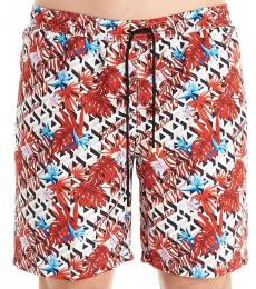 Billionaire Red Palms Swim Shorts
