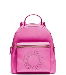 Cole Haan Super Pink Logo Small Backpack