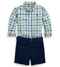 Ralph Lauren 2 Piece Shirt/Shorts Set (Baby Boys)